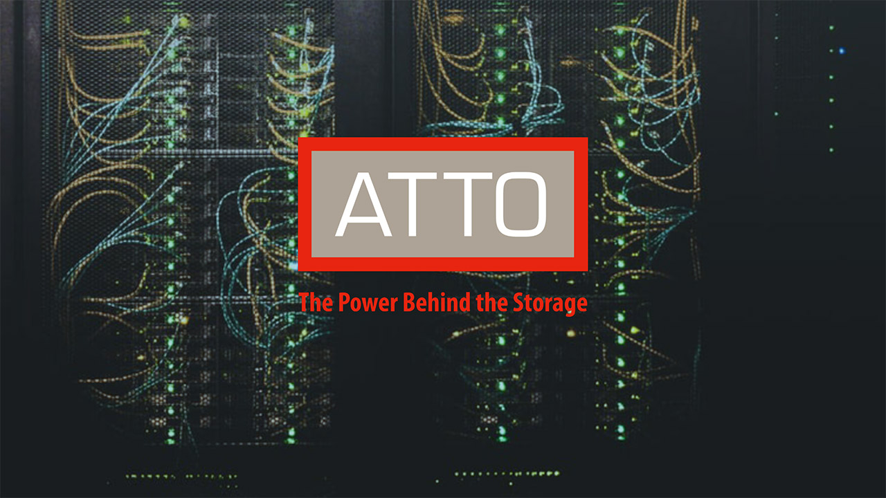 atto technology to show thunderbolt 3 to 25gbe adapter at ibc 2019