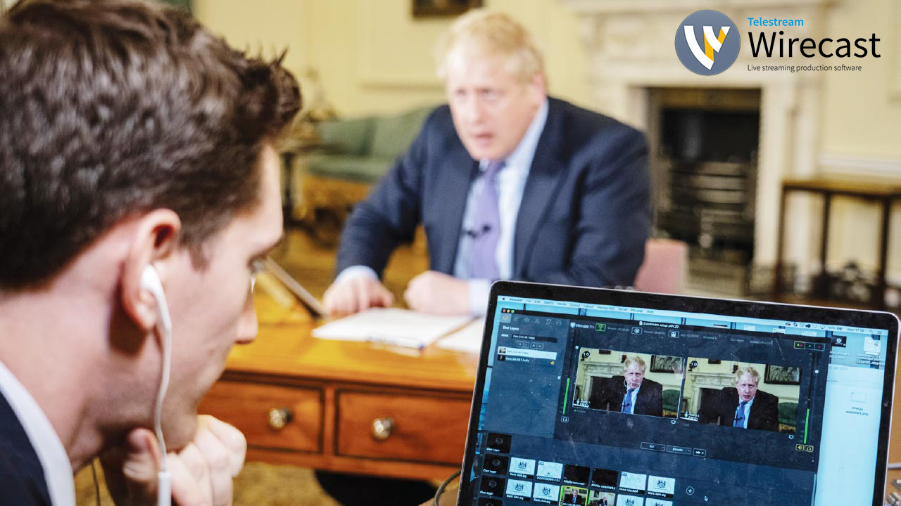 wirecast in Downing Street